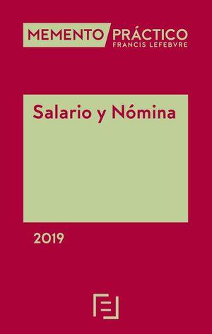 MEMENTO PRÁCTICO. SALARIO Y NÓMINA 2019