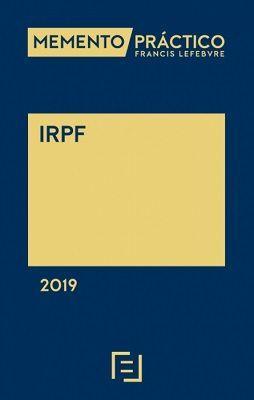MEMENTO PRACTICO IRPF 2019