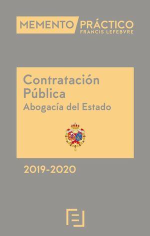 MEMENTO CONTRATACIÓN PÚBLICA. ABOGACÍA DEL ESTADO 2019-2020