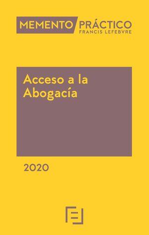 MEMENTO PRACTICO ACCESO A LA ABOGACIA 2020
