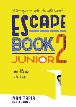 ESCAPE BOOK JUNIOR 2 LAS LLAVES DE LÍA