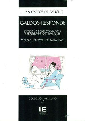 GALDÓS RESPONDE