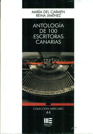 ANTOLOGIA DE 100 ESCRITORAS CANARIAS