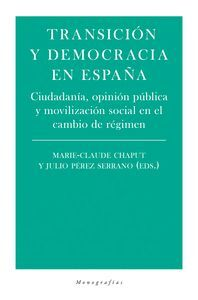 TRANSICION Y DEMOCRACIA EN ESPAÑA