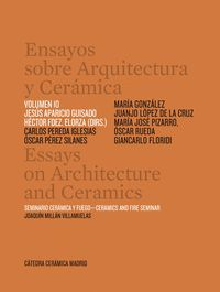 ENSAYOS SOBRE ARQUITECTURA Y CERAMICA T.10