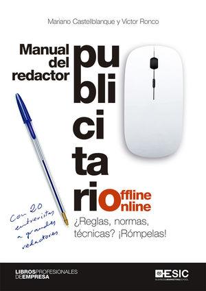 MANUAL DEL REDACTOR PUBLICITARIO OFFLINE-ONLINE