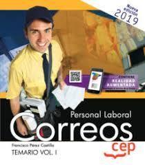 PERSONAL LABORAL CORREOS. TEMARIO VOL. I