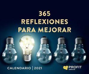 365 REFLEXIIONES PARA MEJORAR - CALENDARIO 2021 (CAJA)