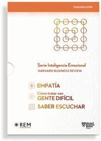 ESTUCHE. SERIE INTELIGENCIA EMOCIONAL (3 VOL.)