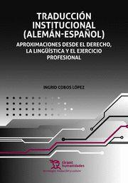 TRADUCCION INSTITUCIONAL ALEMAN ESPAÑOL