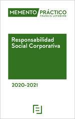 MEMENTO RESPONSABILIDAD SOCIAL CORPORATIVA 2020-2021
