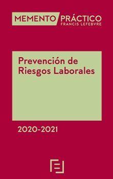 MEMENTO PRÁCTICO. PREVENCIÓN RIESGOS LABORALES 2020-2021