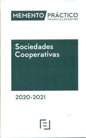 MEMENTO PRÁCTICO: SOCIEDADES COOPERATIVAS (2020-2021)