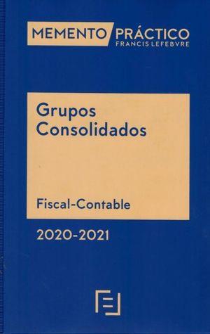 MEMENTO PRÁCTICO. GRUPOS CONSOLIDADOS 2020-2021