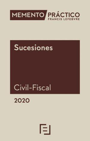 MEMENTO PRÁCTICO SUCESIONES (CIVIL-FISCAL) 2020