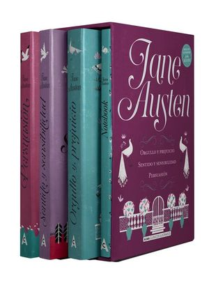 JANE AUSTEN (ESTUCHE 3 VOLS.)
