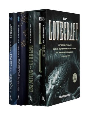 H.P.LOVECRAFT (ESTUCHE 3 VOL.)