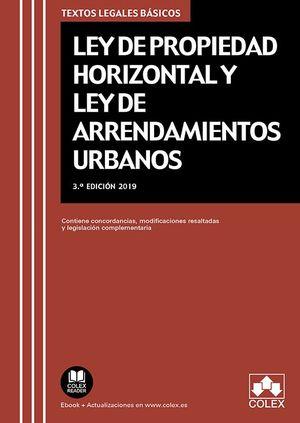 LEY DE PROPIEDAD HORIZONTAL Y LEY DE ARRENDAMIENTOS URBANOS