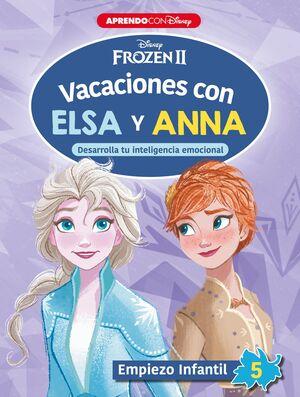 VACACIONES CON ELSA Y ANNA. EMPIEZO INFANTIL 5