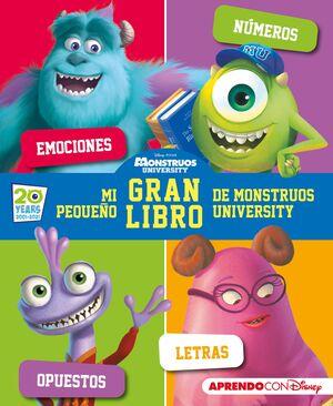 MI PEQUEÑO GRAN LIBRO DE MONSTRUOS DE MONSTRUOS UNIVERSITY