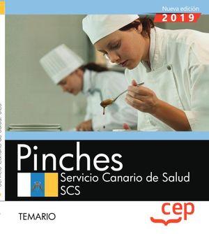 PINCHES. SERVIVIO CANARIO DE SALUD. TEMARIO
