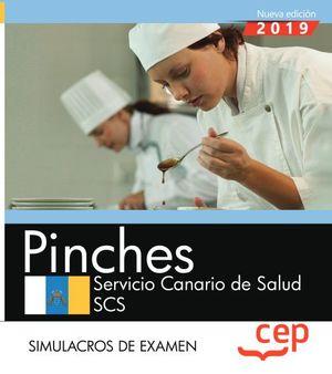 PINCHES. SERVICIO CANARIO DE SALUD. SIMULACROS DE EXAMEN