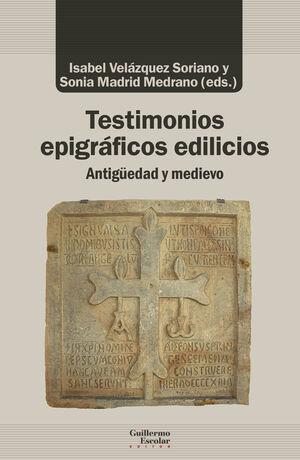 TESTIMONIOS EPIGRÁFICOS EDILICIOS
