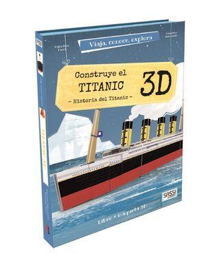 CONSTRUYE EL TITANIC 3D. HISTORIA DEL TITANIC (CAJA)