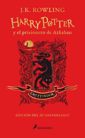 HARRY POTTER Y EL PRISIONERO DE AZKABA. GRYFFINDOR