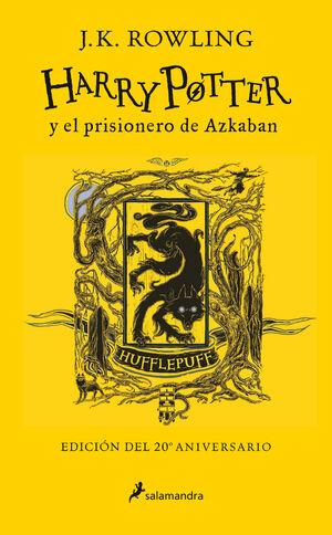 HARRY POTTER Y EL PRISIONERO DE AZKABA. HUFFLEPUFF