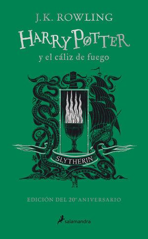 HARRY POTTER Y EL CÁLIZ DE FUEGO. SLYTHERIN