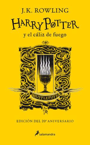 HARRY POTTER Y EL CÁLIZ DE FUEGO. HUFFLEPUFF