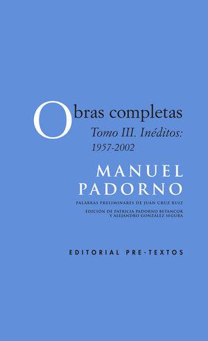 OBRAS COMPLETAS T.III. INÉDITOS 1957-2002