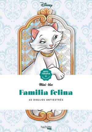 FAMILIA FELINA. 60 DIBUJOS ANTIESTRÉS