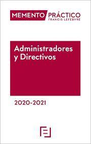 MEMENTO PRACTICO ADMINISTRADORES Y DIRECTIVOS 2020-2021