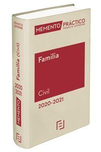 MEMENTO PRACTICO. FAMILIA CIVIL 2020-2021
