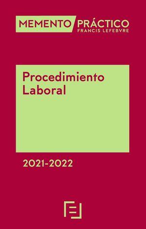 MEMENTO PROCEDIMIENTO LABORAL 2021-2022