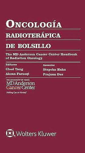 ONCOLOGIA RADIOTERAPICA DE BOLSILLO