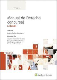 MANUAL DE DERECHO CONCURSAL (3.ª EDICION)