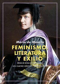 FEMINISMO, LITERATURA Y EXILIO