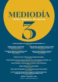 MEDIODÍA. REVISTA HISPÁNICA DE RESCATE 3