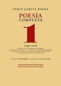 POESIA COMPLETA, 1 1946-2006