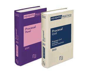 PACK MEMENTO PROCESAL CIVIL 2021+ MEMENTO PROCESAL PENAL 2021