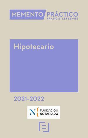 MEMENTO HIPOTECARIO 2021-2022