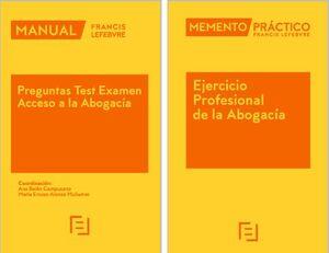 PACK MEMENTO EJERCICIO PROFESIONAL DE LA ABOGACÍA 2022 + MANUAL PREGUNTAS TEST E