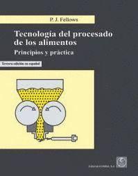 TECNOLOGIA DEL PROCESADO DE LOS ALIMENTOS