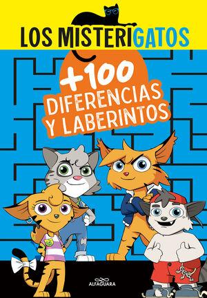 LOS MISTERIGATOS MÁS DE 100 DIFERENCIAS Y LABERINTOS