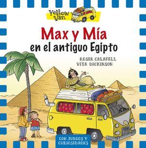MAX Y MÍA EN EL ANTIGUO EGIPTO - YELLOW VAN