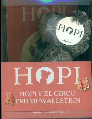 HOPI Y EL CIRCO TRUMPWALLSTEIN (LIBRO + MUÑECO)