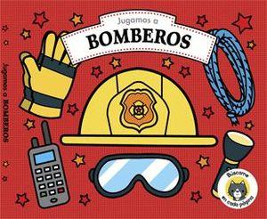 JUGAMOS A BOMBEROS. CON LIBRO Y PIEZAS DE PUZLE